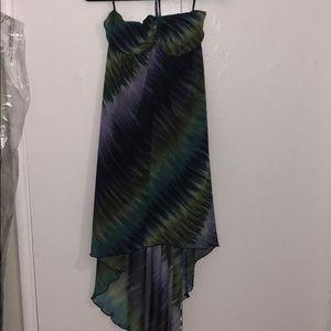 Valerie Bertinelli High-Low dress